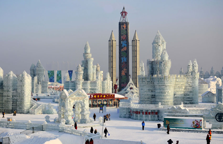 China Harbin Ice Festival