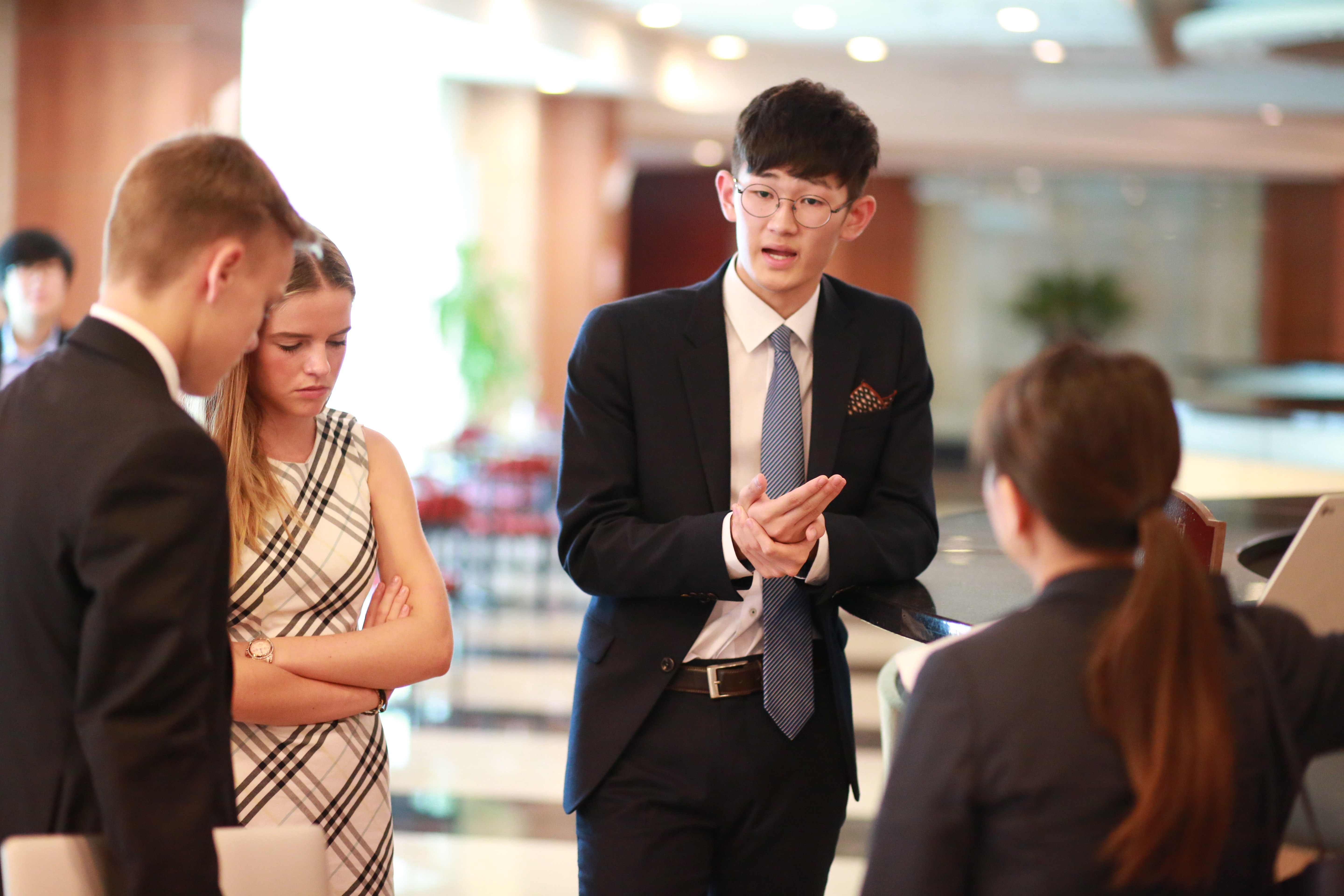 Model united nations in China
