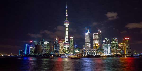 Sightseeing in Shanghai