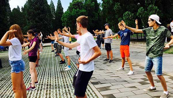 Chinese Martial (Kong Fu or Tai Chi) Class