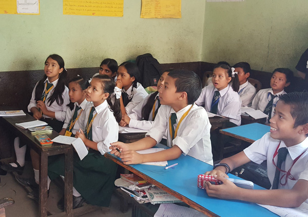 Teaching in local  schools