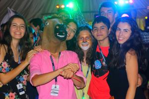 国际学生主题派对