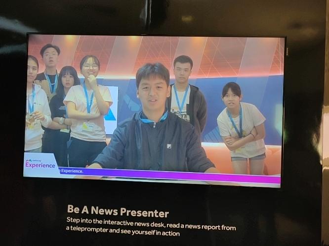 企业参访-新加坡MediaCorp公司