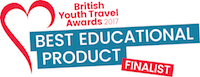 British Youth Travel Awards - Finalist 2017